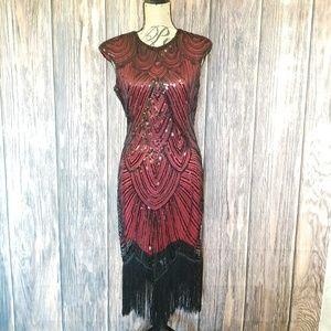 Gorgeous Flapper -Like Dress